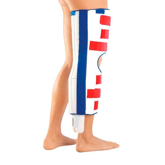 Шина для иммобилизации коленного сустава с разгрузкой задней крестообразной связки Мedi PTS