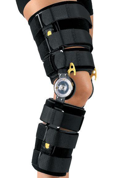 Ортез для коленного сустава телескопический послеоперационный Мedi ROM deluxe с системой блокировки разгибания (Medi ELS)