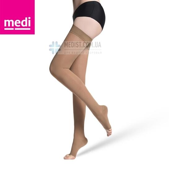 Компрессионные чулки MEDIVEN PLUS medi 1 и 2 класс компрессии открытый и закрытый носок