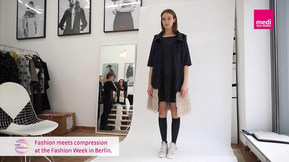Женские компрессионные гольфы MEDIVEN ELEGANCE medi 1 и 2 класс компрессии с закрытым носком